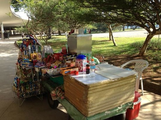 Parque do Ibirapuera: Concession stand
