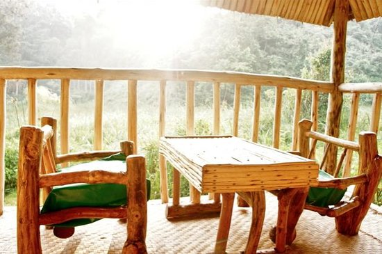 Nshongi Camp : patio