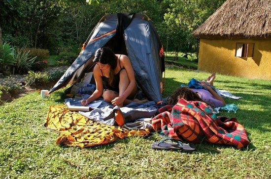 Nshongi Camp: camping