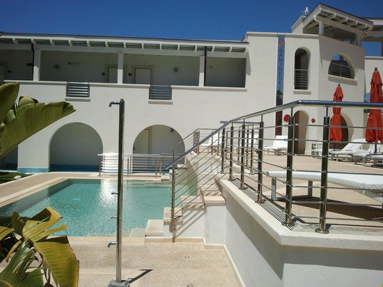 Ganimede Hotel: PISCINA