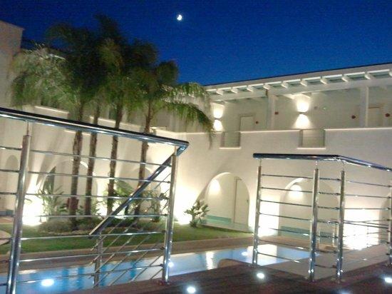 Ganimede Hotel: Vista dal solarium