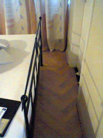 Hotel Residenz Begaswinkel: Nur für schlanke Leute, der Weg zur Toilette