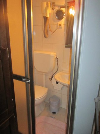 Residencial Faria Guimaraes: bagno  stanza 18