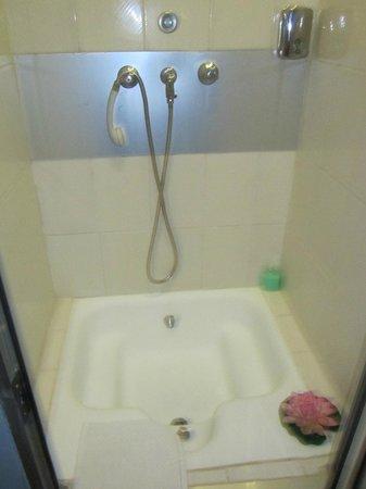Residencial Faria Guimaraes: doccia stanza 18