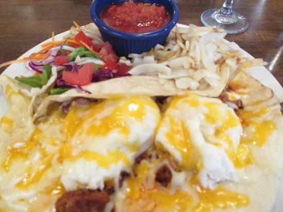 Buffalo Cafe & Nightly Grill : Breakfast Special with Chorizo