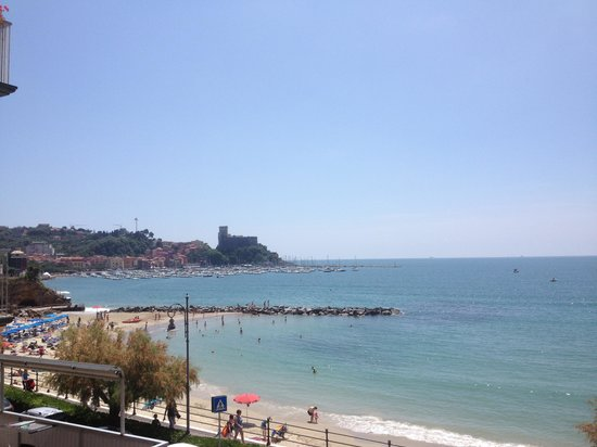 Hotel Florida Lerici: our view