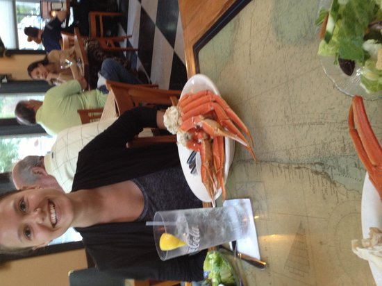Main Street Cafe & Pub: Crab legs