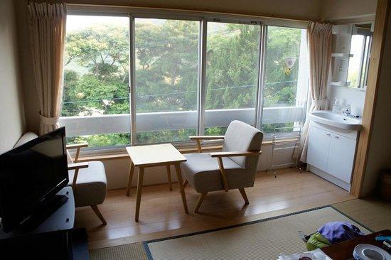 Ikijimaso : 部屋(山側)