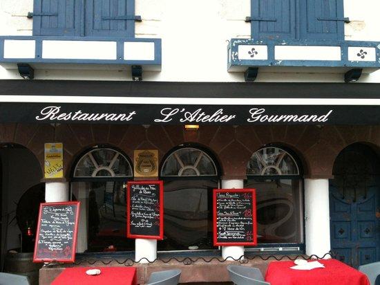 L'Atelier Gourmand : la traditionnelle ardoise