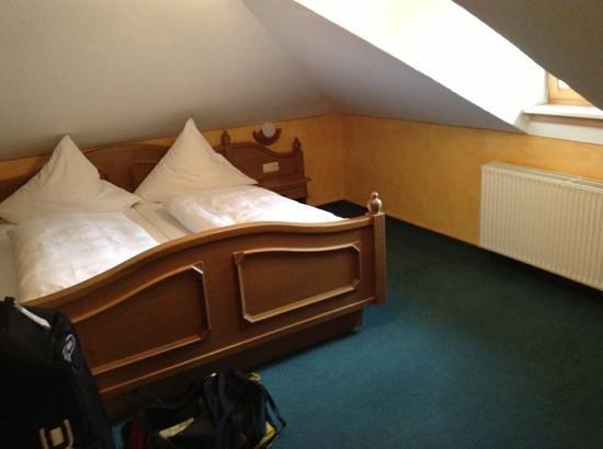 Hotel Gruenberger : my room