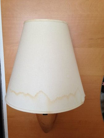 Scandic Kolding: mark on the lamps