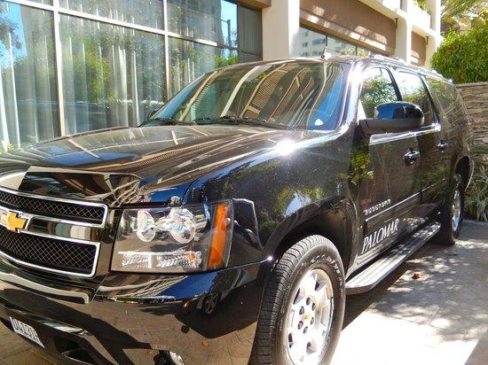 Hotel Palomar Los Angeles - Beverly Hills - a Kimpton Hotel: Use of hotel vehicle within 3 mile radius