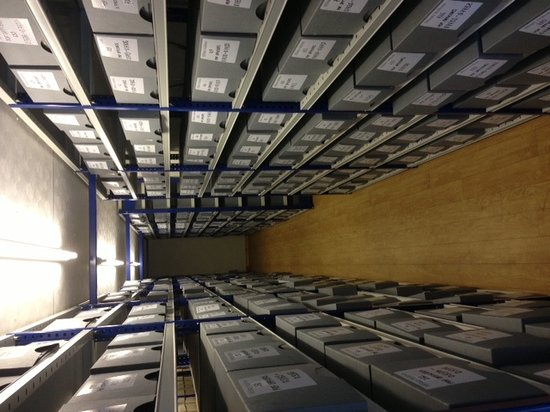 Military Archives: File room