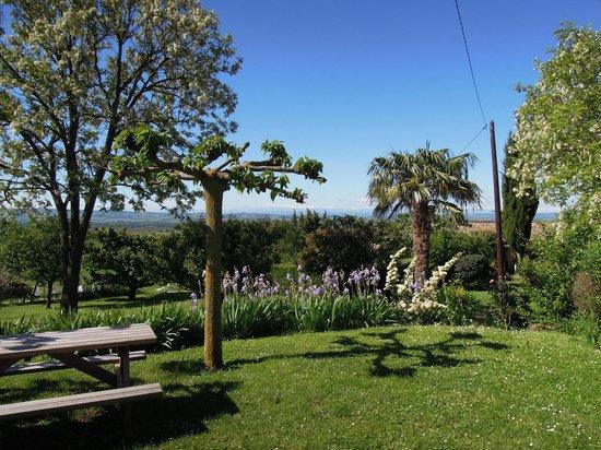 Domaine de la Bade : Eigen tuintje