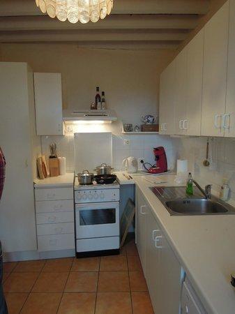 Domaine de la Bade : prima uitgeruste keuken
