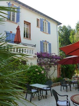 Hotel Villa Provencale: depuis la terrasse