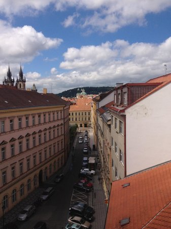 Design Hotel Josef Prague: View from our room