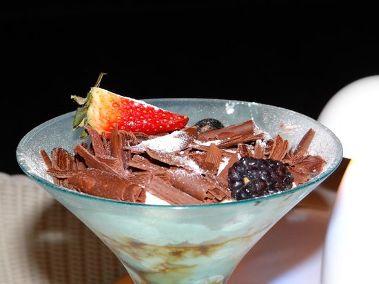 Four Seasons Resort Seychelles: Dessert - tiramisu