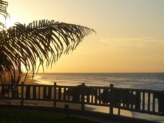 Hotel Vila Selvagem: por do sol visto do hotel
