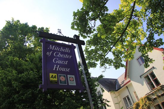 Mitchell's of Chester Guest House : their awards