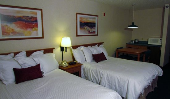 Alpine Slopes Lodge: Double Beds