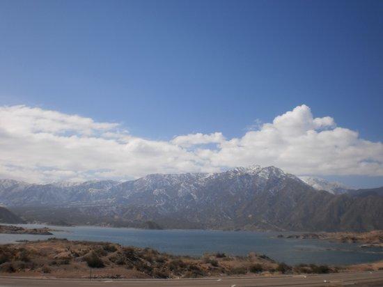 Potrerillos Dam: Dique Potrerilllos - Mendoza