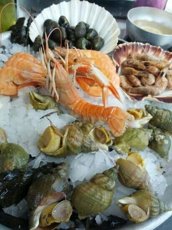 La matelote: plateau de fruit de mer