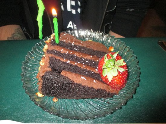 The Raven Grill: Birthday Cake