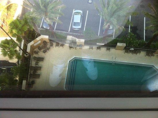 Drury Inn & Suites Orlando: Looking down on pool