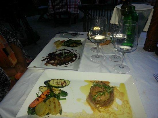 La Bruschetta: fantastic food