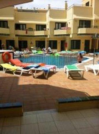 Bungalows Barranco: Pool view!