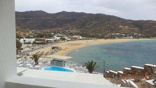 Ios Palace Hotel : Απίστευτη θέα από το δωμάτιο μας