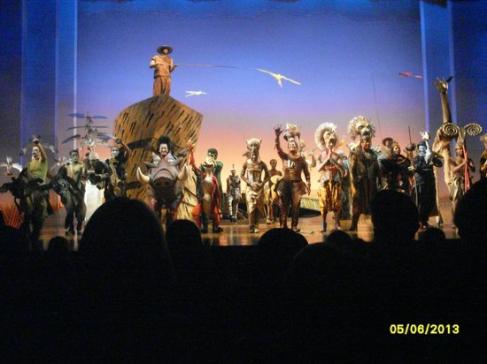 curtain call  lion king  the cast