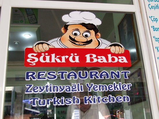 Sukru Baba : Place with the authentic Turkish food for a good price.