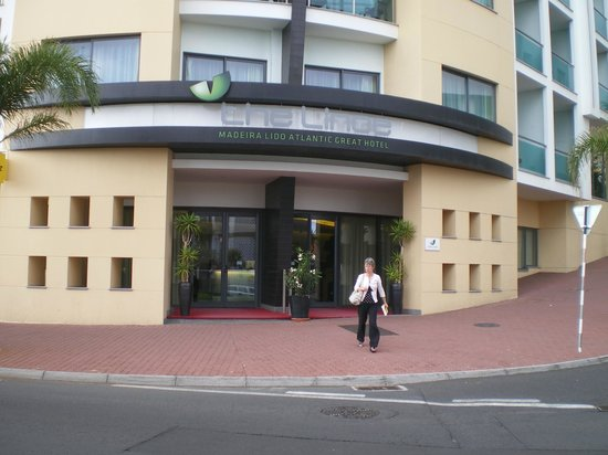 Lince Hotel Madeira: entrance to hotel