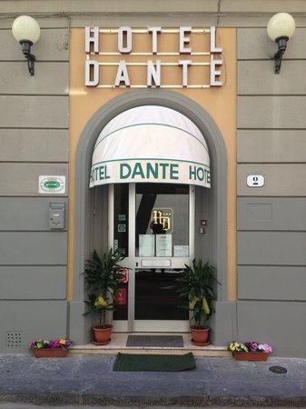 Hotel Dante: ingresso