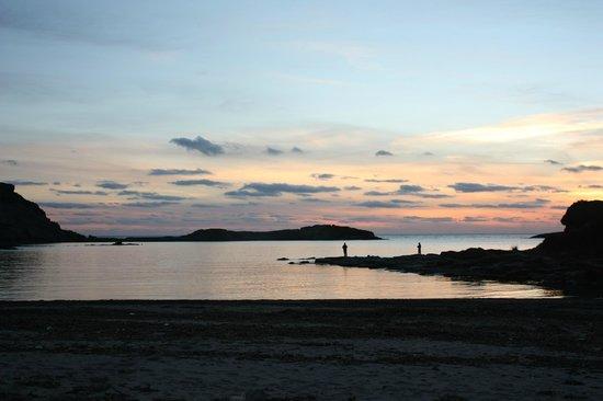 Agriturismo Sirimagus: fantastico tramonto
