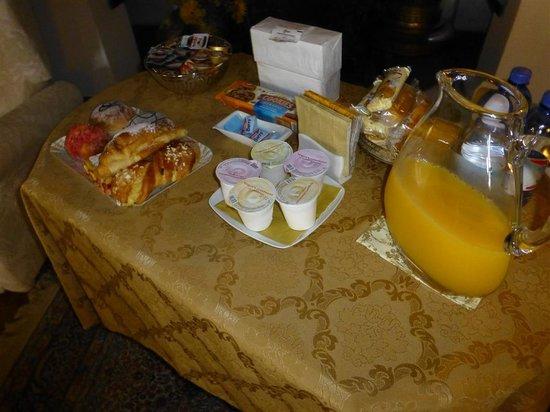 Villa Irene: Frühstück