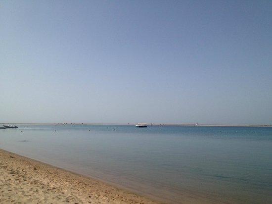 Tirana Dahab Resort: plage