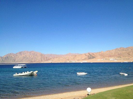 Ibis Styles Dahab Lagoon Hotel : vue de bateau