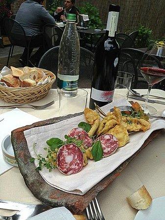 Trattoria Il Portale: aperitivo di benvenuto
