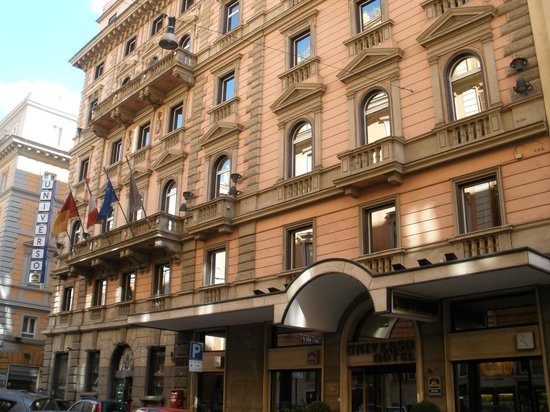 Best Western Hotel Universo Rome Booking Com