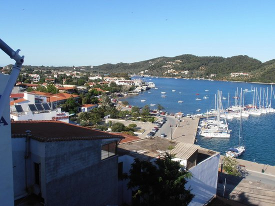 Babis Hotel: View from rooftop terrace