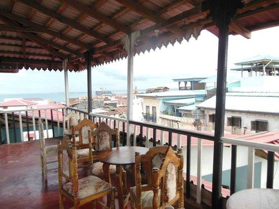 Zanzibar Lodge: Terrace