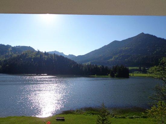 Arabella Alpenhotel am Spitzingsee: Zimmeraussicht