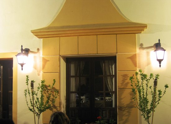 Palacio Las Manillas: Fachada Posterior