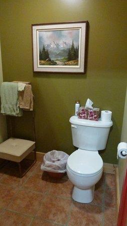 Blue Diamond Mountain Bed & Breakfast: Bathroom
