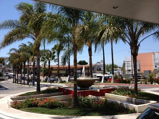 Tijuana Marriott Hotel: From the front door