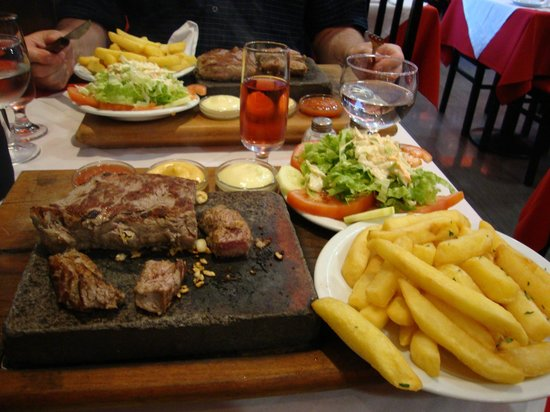 Solar da Ajuda : Steak on the stone