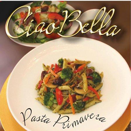 Ciao Bella : vegetarian options